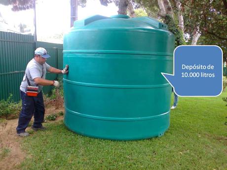 Mergulho salgado dep sitos - Depositos de agua rectangulares ...