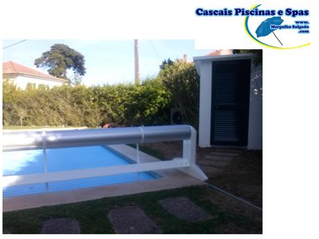 Mergulho salgado enroladores e coberturas para piscina for Coberturas para piscinas